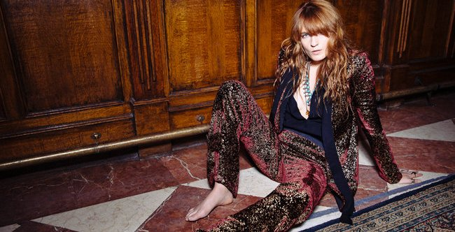 "Album ""How Big, How Blue, How Beautiful"" Florence + The Machine Duduki #1 Billboard 200"