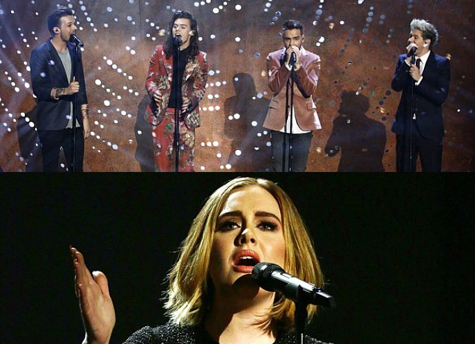 Simak Penampilan Adele, Coldplay Dan One Direction Di Final The X Factor Inggris