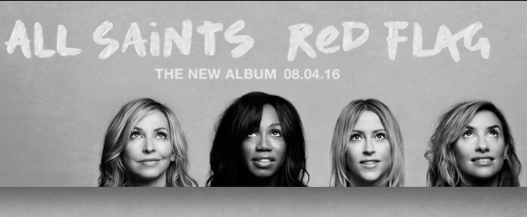 "All Saints Umumkan Comeback Dengan Album Baru, ""Red Flag"""