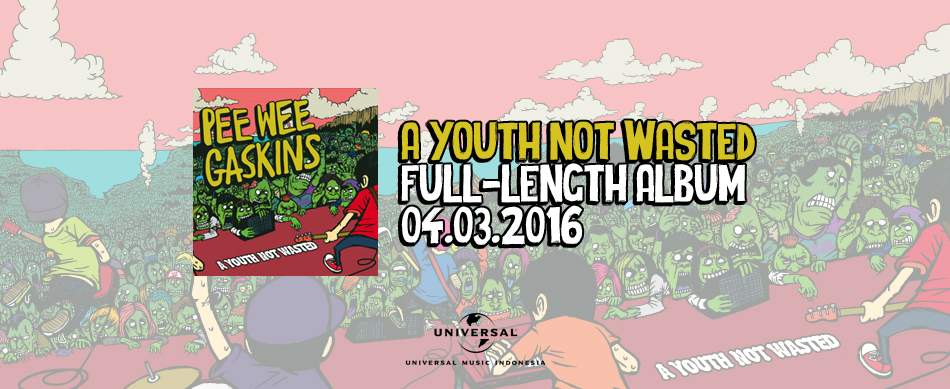 Pre-Order CD PEE WEE GASKINS – A Youth Not Wasted