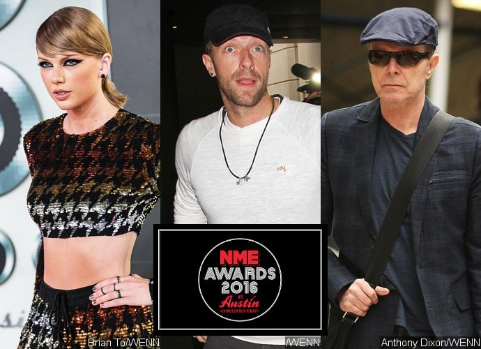 Taylor Swift, Coldplay, David Bowie Bersinar Di NME Awards 2016