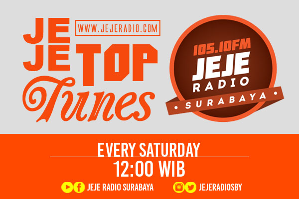 Jeje Top Tunes – 30 Apr 2016