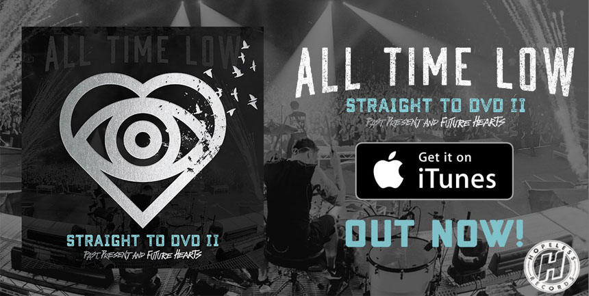 October Artist of The Month: All Time Low
