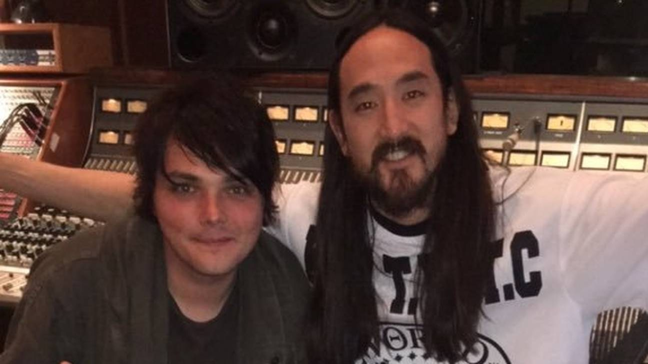 Gerard Way Ajak Steve Aoki Untuk Versi Remix 'Welcome To The Black Parade'