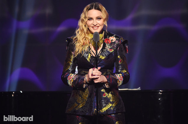 Madonna Adalah Woman of the Year Untuk Billboard Women In Music 2016