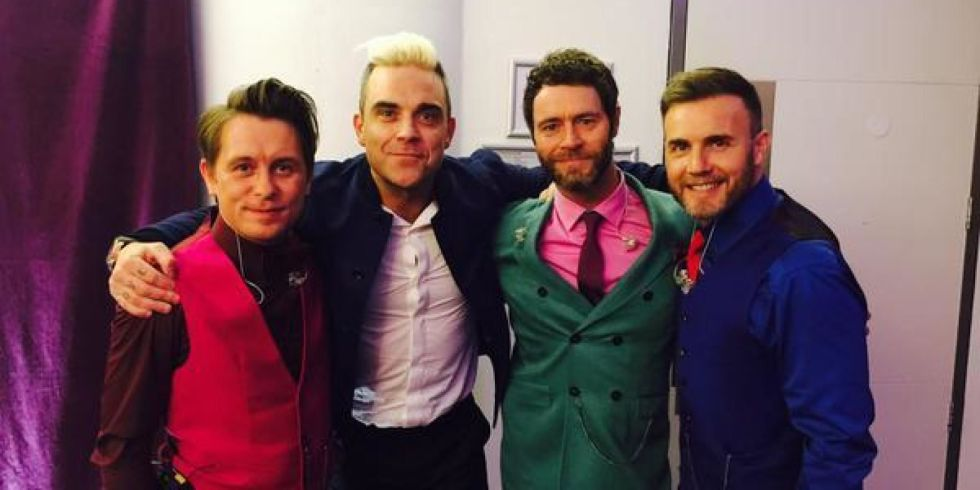 "Robbie Williams Siap Tampil Bersama Take That Di Final ""Let It Shine"""