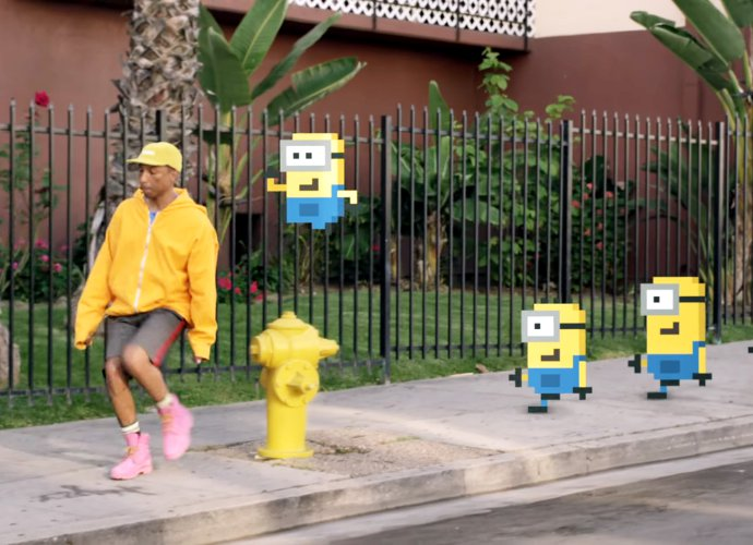 Pharrell Williams Ajak Para Minions Menemani Dirinya Dalam Video 'Yellow Light'