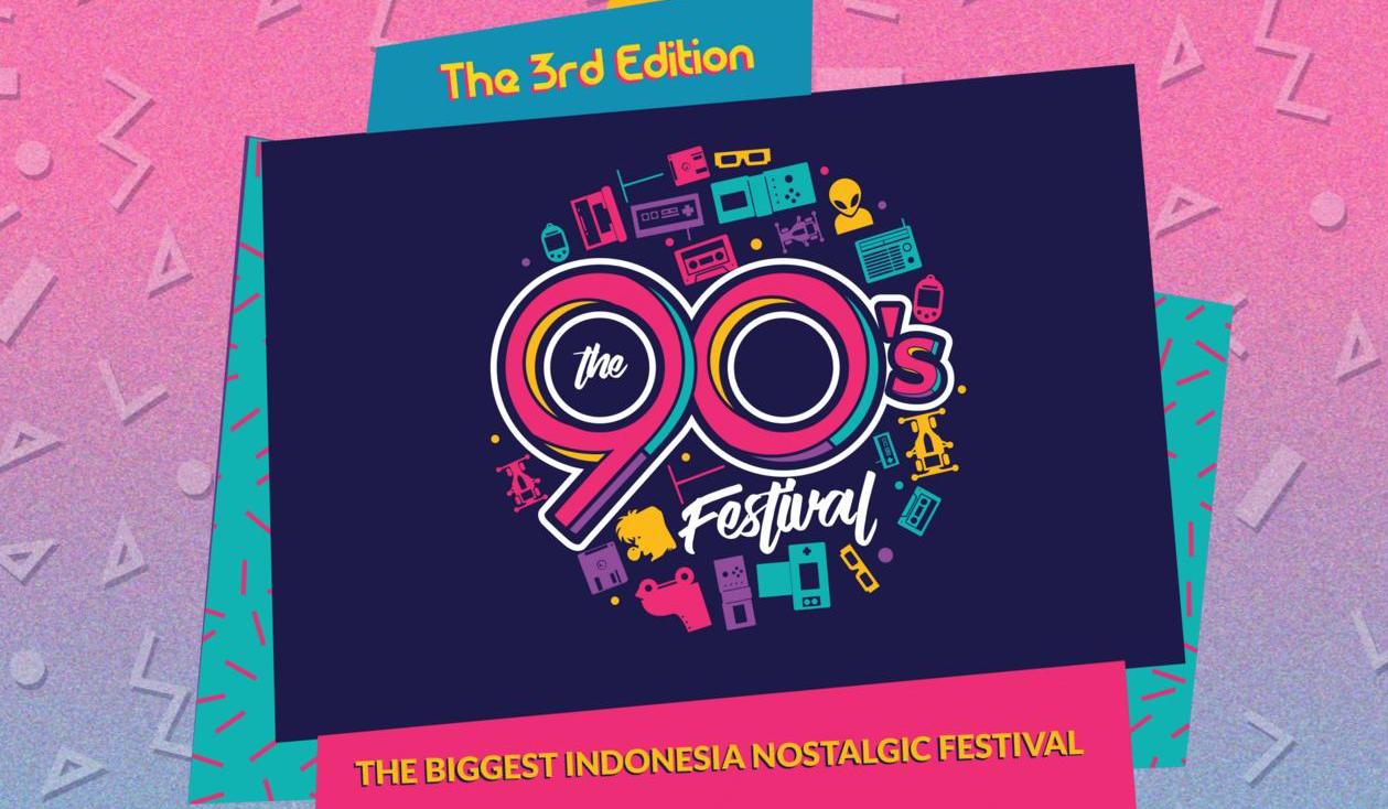 Reuni Bersama Musisi Favorit 90-an di The 90s Festival