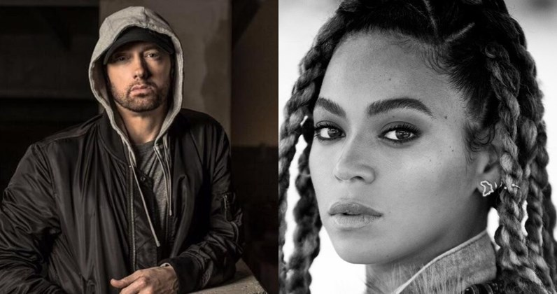 Eminem Beri Kejutan Dengan Gandeng Beyonce Di Single Barunya, 'Walk On Water'