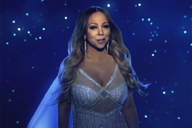 Mariah Carey Adalah Ratu Natal Menawan Dalam Video Single 'The Star'