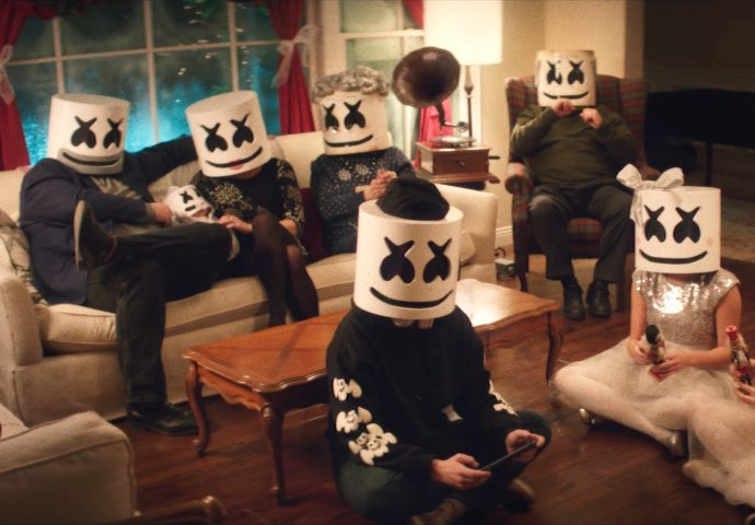 Simak Pesta Natal Ala Marshmello Dalam Video 'Take It Back'