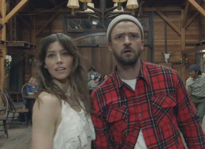 Justin Timberlake Ajak Sang Istri, Jessica Biel, Bintangi Video 'Man of the Woods'