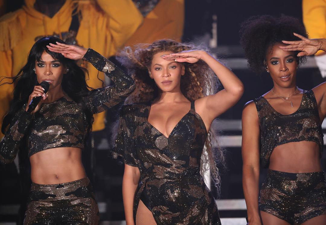 Beyoncé Reuni Bersama Destiny's Child Di Coachella 2018