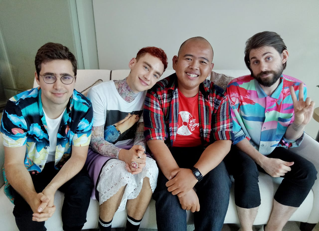 Exclusive Interview with Years & Years: It Kept Coming Back to Palo Santo