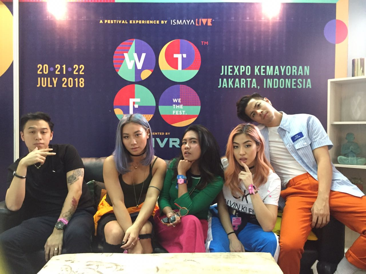 "Exclusive Interview The Sam Willows di We The Fest 2018: Album Baru IKWB ""I Know But Where"" Berasa Lahiran Bayi"