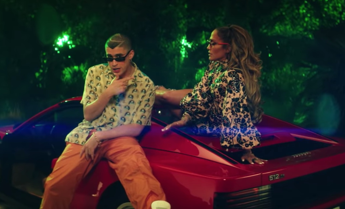 Panas Membara Di Video Kolaborasi Jennifer Lopez & Bad Bunny, 'te Guste'