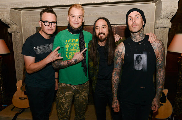 Steve Aoki Ajak Blink-182 Dalam Anthem Pop-Punk-Dance, 'Why Are We So Broken'