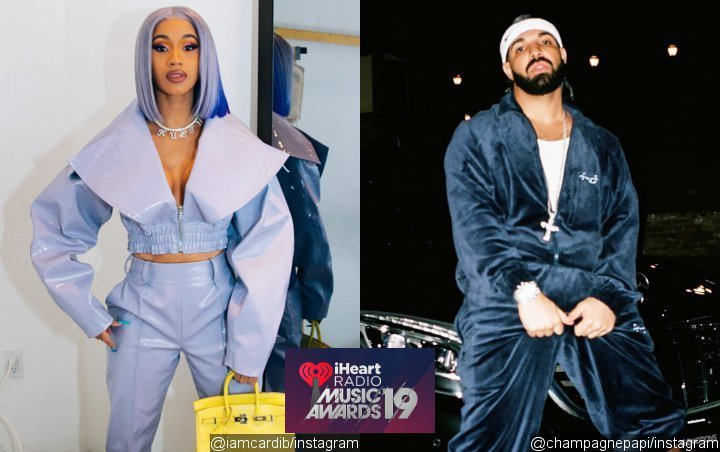 Cardi B & Drake Dominasi Nominasi iHeartRadio Music Awards 2019