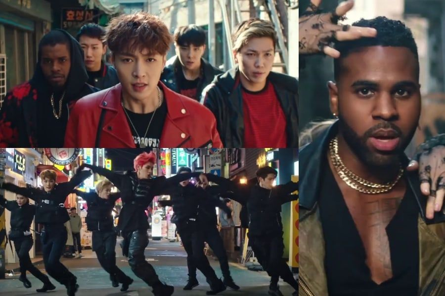 Jason Derulo Berkolaborasi Bersama Lay Exo & Nct 127 Untuk 'let's Shut Up And Dance'