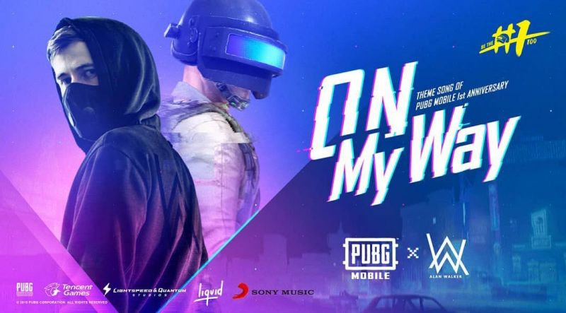 Peringati 1 Tahun Usianya, Pubg Mobile Gandeng Alan Walker Dalam 'on My Way'