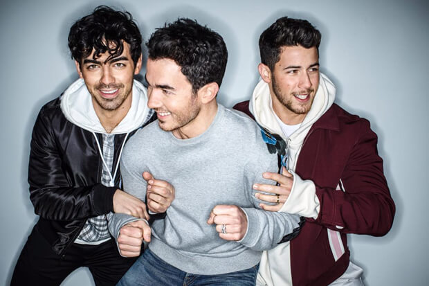 'Sucker' Milik Jonas Brothers Debut Di Posisi #1 Billboard Hot 100