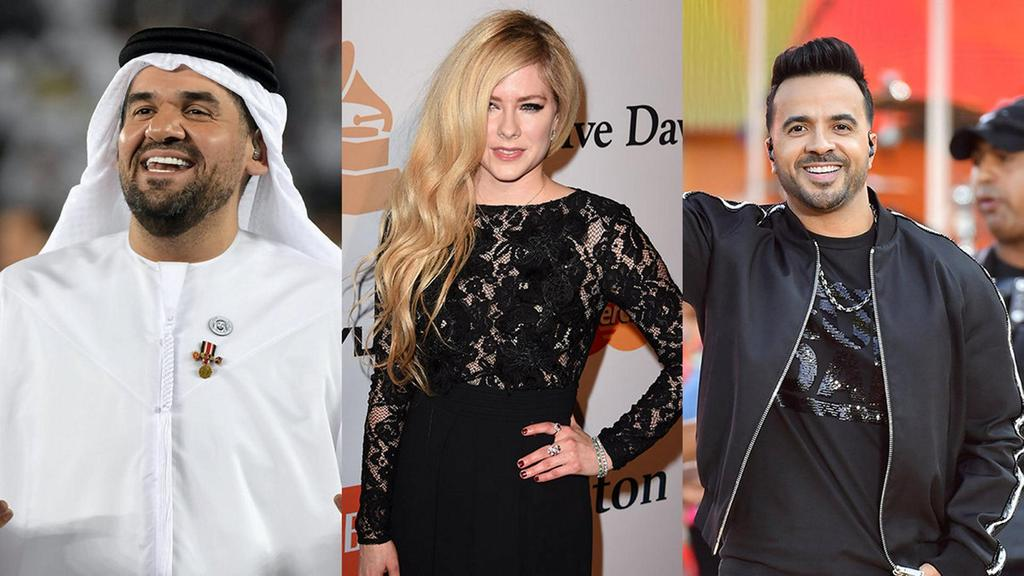 Avril Lavigne, Luis Fonsi Dan Ryan Tedder Berkolaborasi Di Single 'right Where I'm Supposed To Be'
