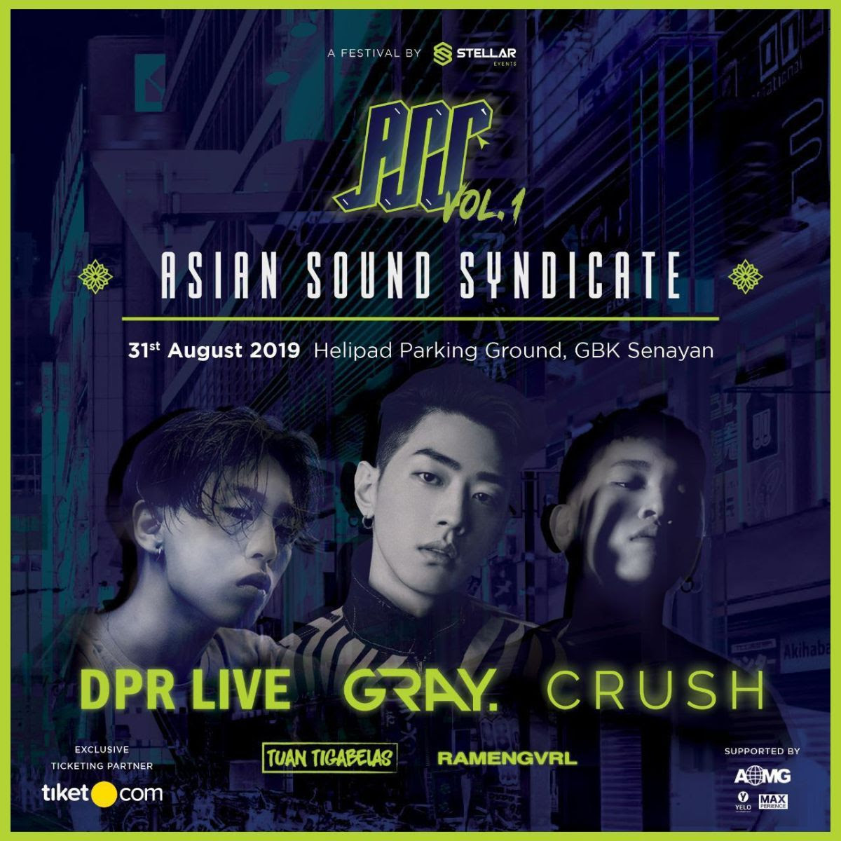 Asian Sound Syndicate Vol.1 Sajikan Festival Musik Hip-Hop Internasional