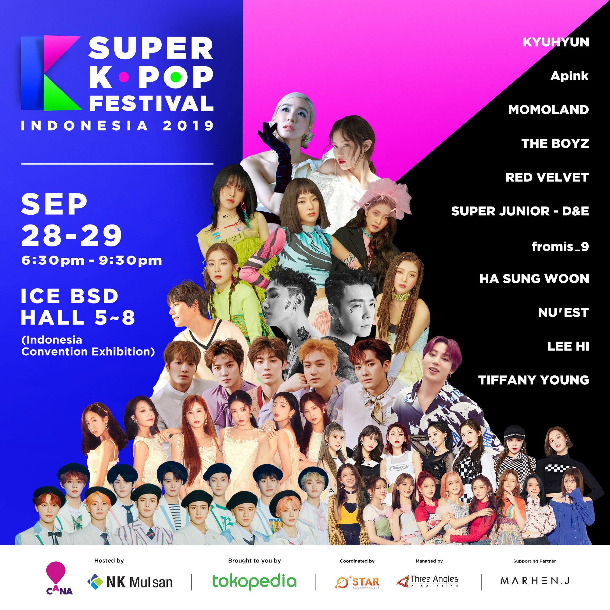 Update Super Kpop Festival Indonesia 2019: Final Line Up & 2 Day Pass!
