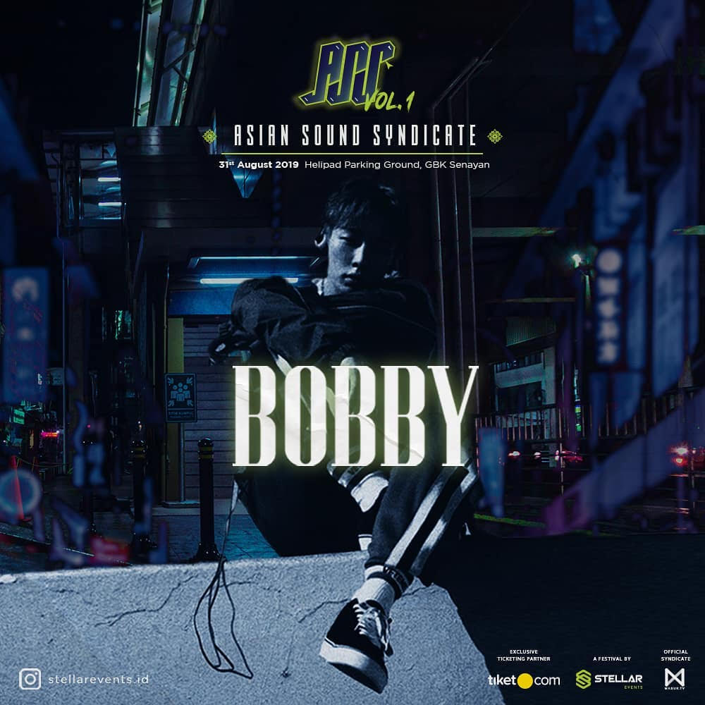 Bobby Ikon Dipastikan Tampil Solo di Asian Sound Syndicate Vol.1