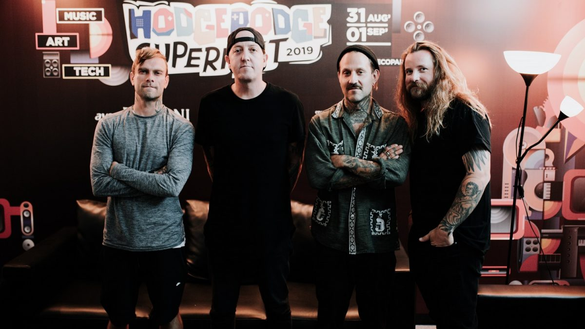 CreativeDisc Interview with The Used : Penantian 11 Tahun, Genre Musik, dan Streaming