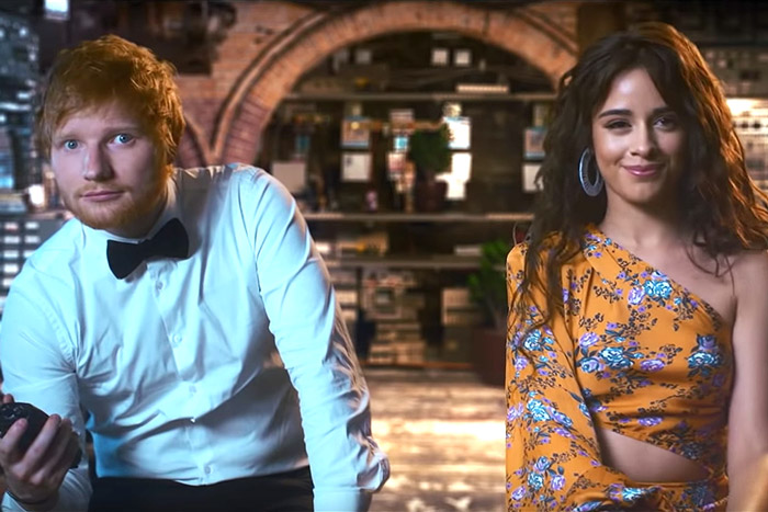 Kolaborasi Ed Sheeran, Camila Cabello & Cardi B, 'South Of The Border', Sajikan Video Dramatis