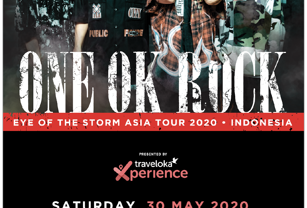 "Konser ONE OK ROCK ""The Eye Of The Storm Asia Tour 2020 Indonesia"" Resmi Ditunda"