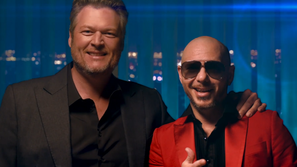 Pitbull & Blake Shelton Lepas Video Kolaborasi Mereka, 'Get Ready'