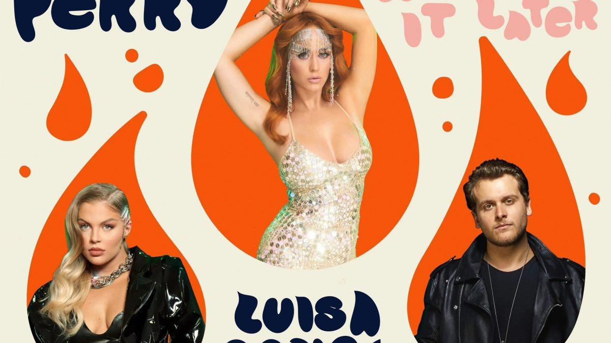 Katy Perry Rilis Versi Remix 'Cry About It Later' Bersama Luisa Sonza dan Bruno Martini